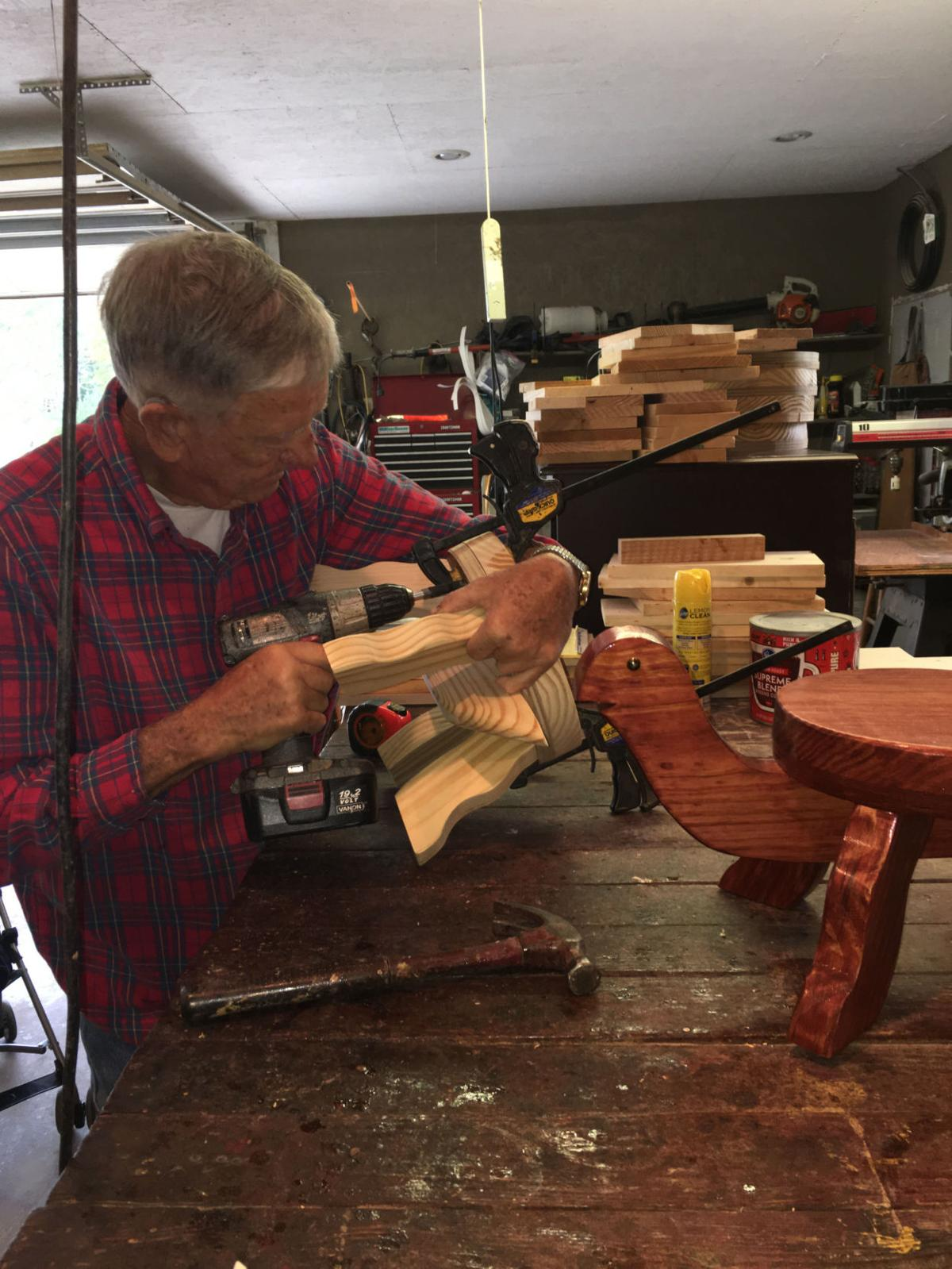 Woodworker Ben Early