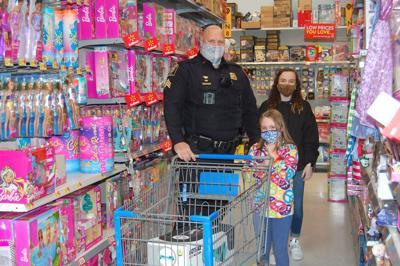 Shop With a Cop/Fireman