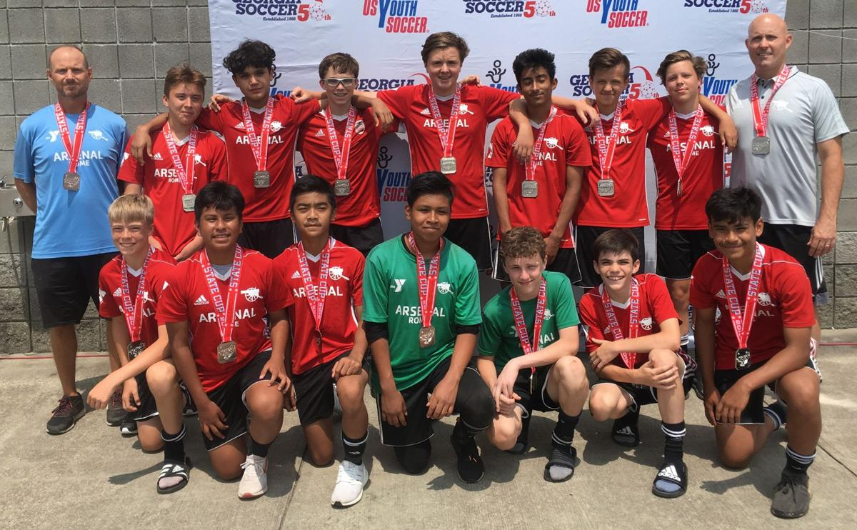 Youth Soccer Arsenal Team Reaches Regionals Local Northwestgeorgianews Com
