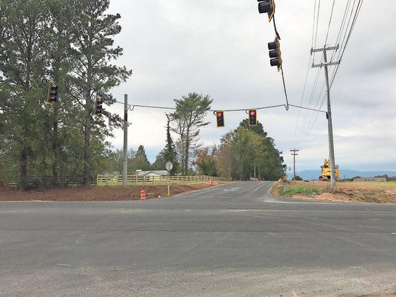 New traffic signal