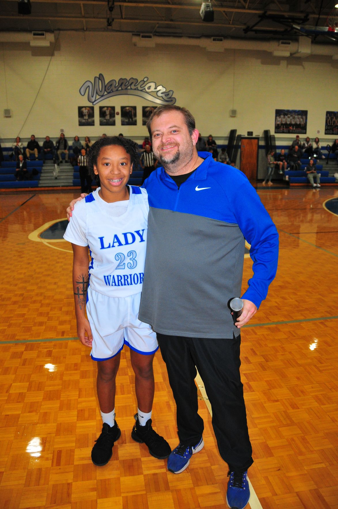 Gordon Central's Mercedes Coleman breaks school's all-time scoring record