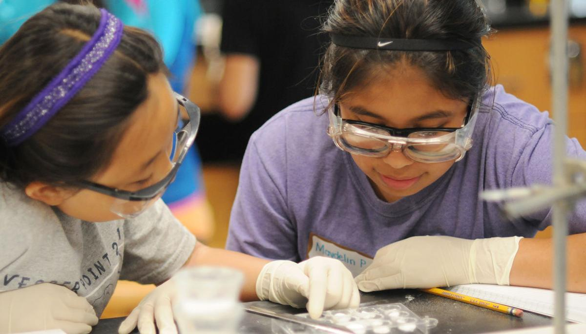 Camp helps engage girls in STEM