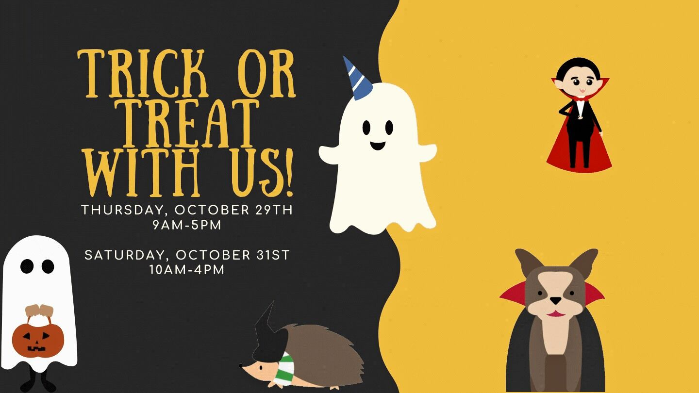 Library hosts Trick or Treat today and Saturday