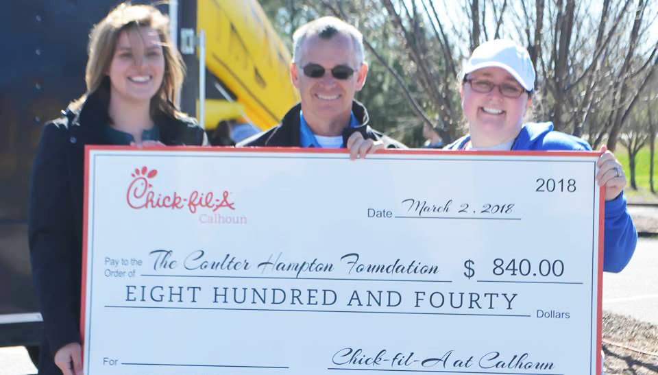 Annual Coulter Hampton Day event raises more than $28k to help kids in Gordon County