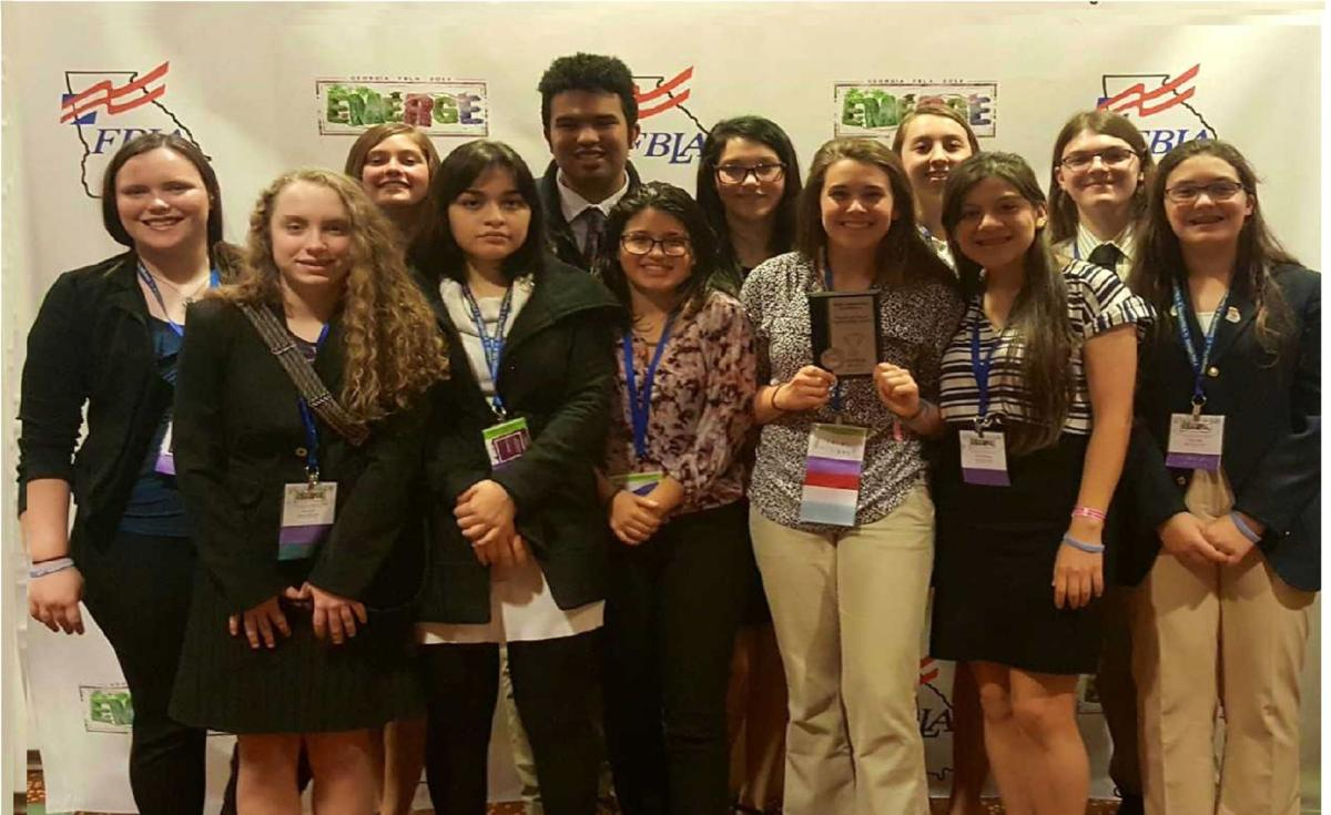 Rockmart FBLA at 2019 state convention