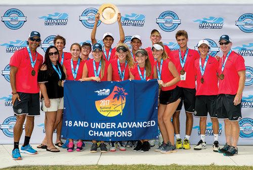 Briggs' Tennis Team national champs