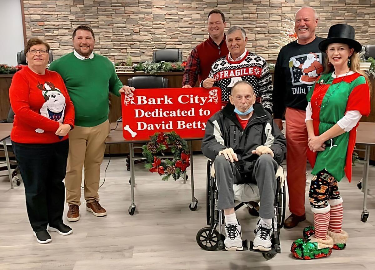 Fort O city council Dec. 14 dog park dedication to David Betty