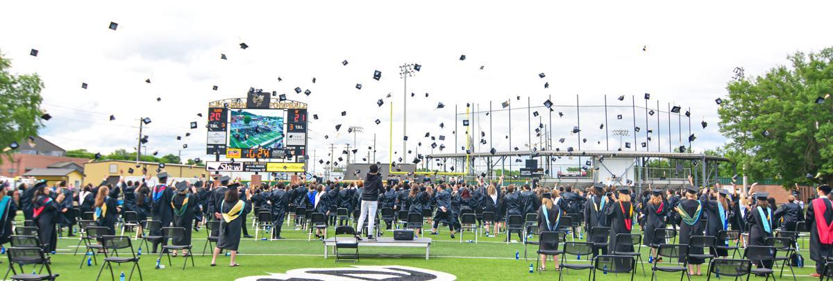 Calhoun High School 2021 graduation ceremony