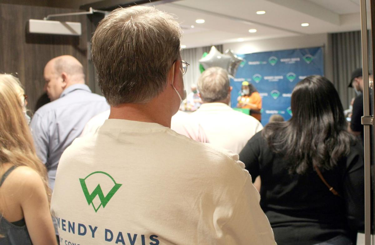 Wendy Davis congressional campaign kickoff event
