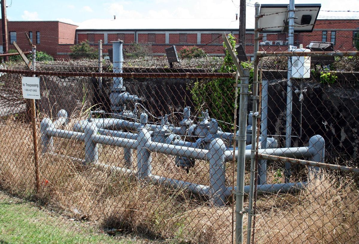 Natural gas line being upgraded