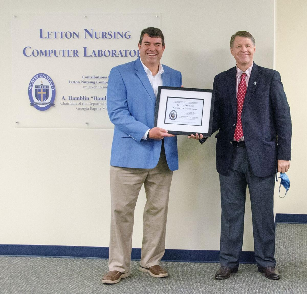 Nursing computer lab at Shorter named in memory of renowned surgical oncologist