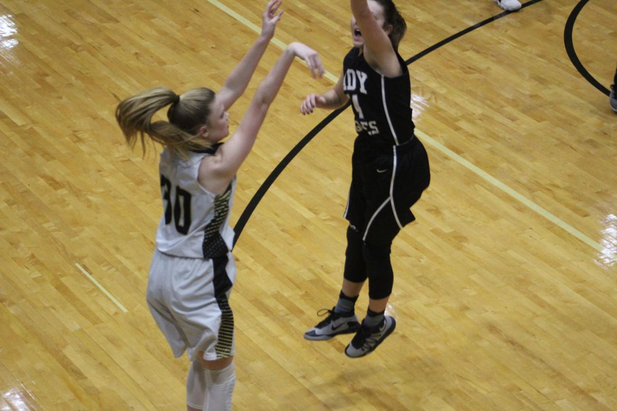 Rockmart girls basketball - Jan. 12, 2018