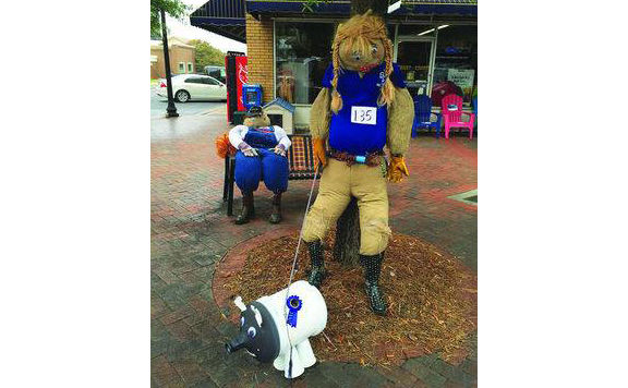 Annual Downtown Scarecrow contest to begin Oct. 17