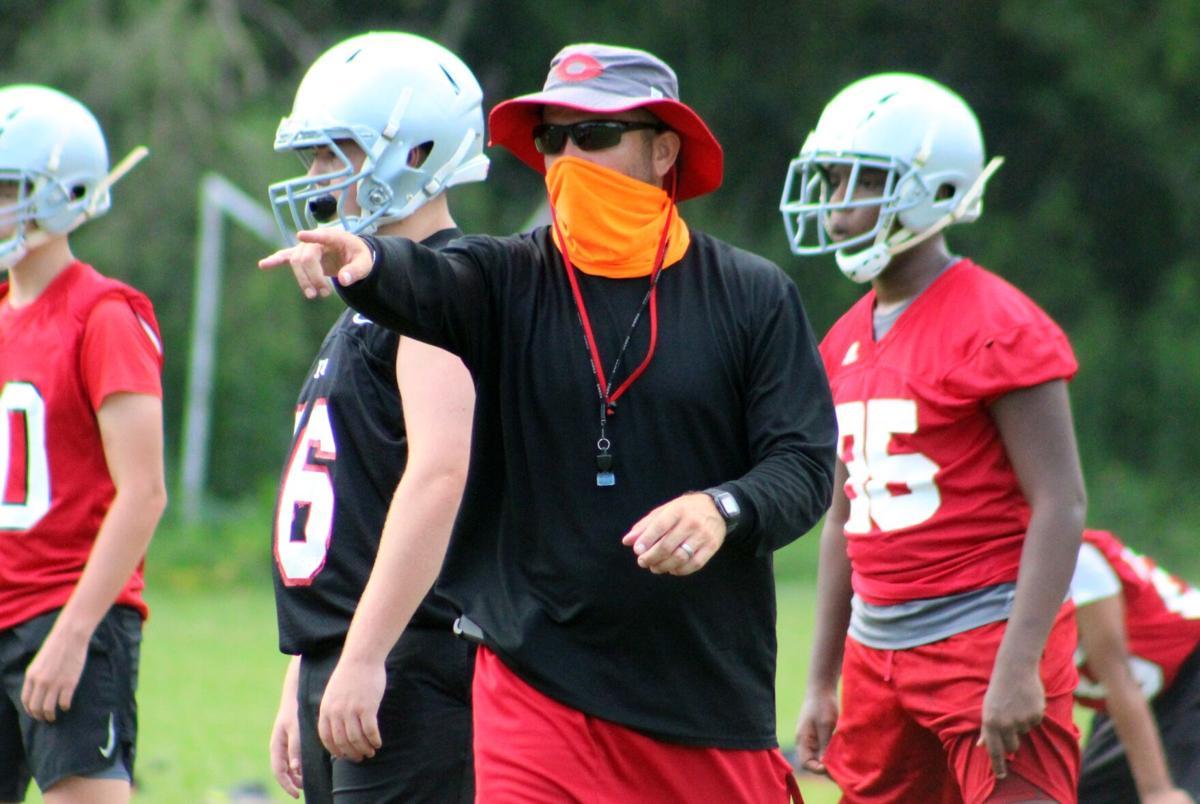 Cedartown football team continues preseason practice