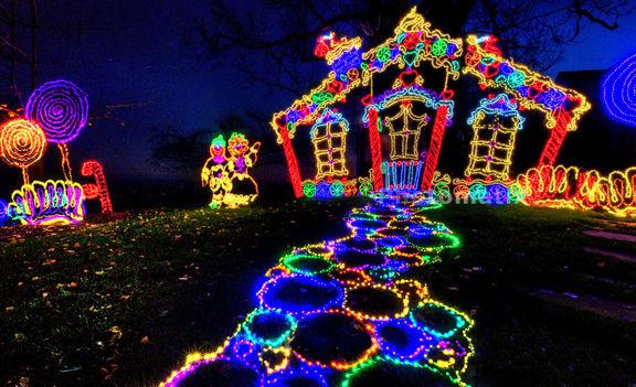 Rock City's Enchanted Garden of Lights | The Calhoun Times ...