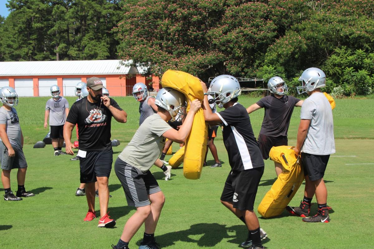 Cedartown Football practice July 2019