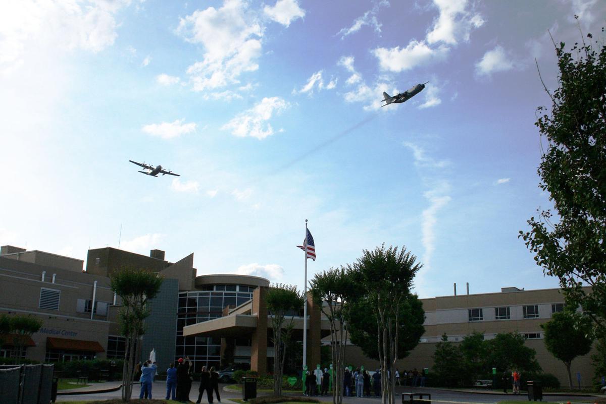 C-130s visit Rome for flyover