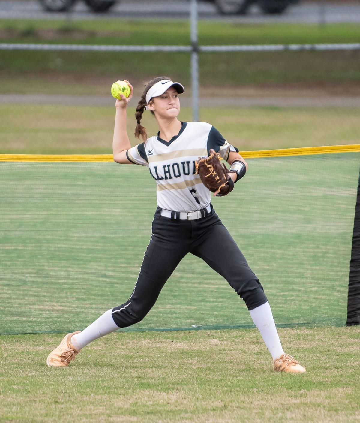 Calhoun Softball - 2019 State Tournament Hannah Mashburn