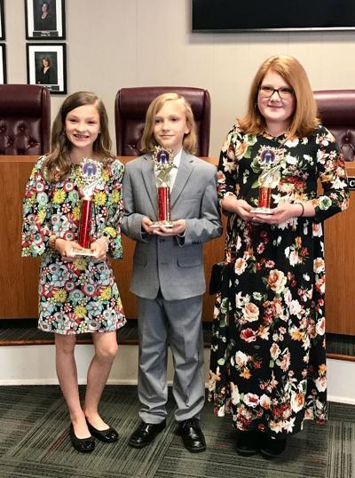 PSD Speech Contest Winners 2019