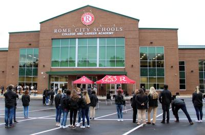 Rome City Schools College and Career Academy official opens, first classes begin Monday