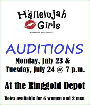 Auditions for Hallelujah Girls
