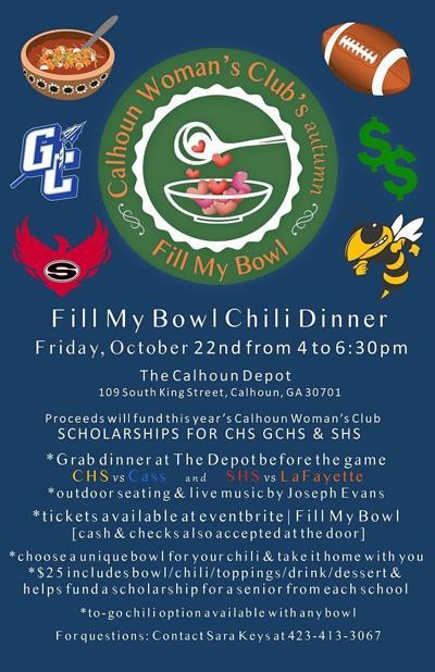 Calhoun Woman's Club holds 'Fill My Bowl' event