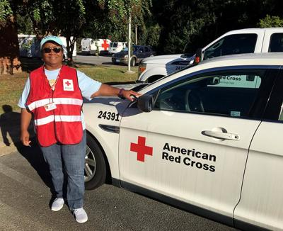 North Georgia Red Cross volunteer Betty Ford of Rome deployed to Macon