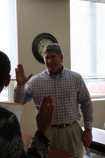 Chris Culver Swearing In Cerermony