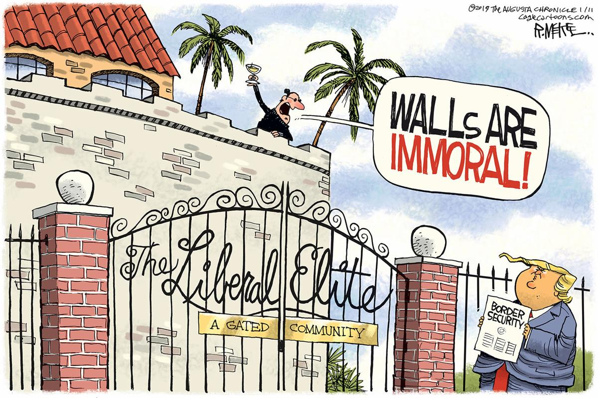 Walls are immoral