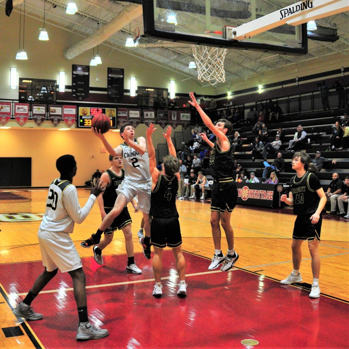Calhoun's Gage Maffetone vs. Bradley Central (TN)
