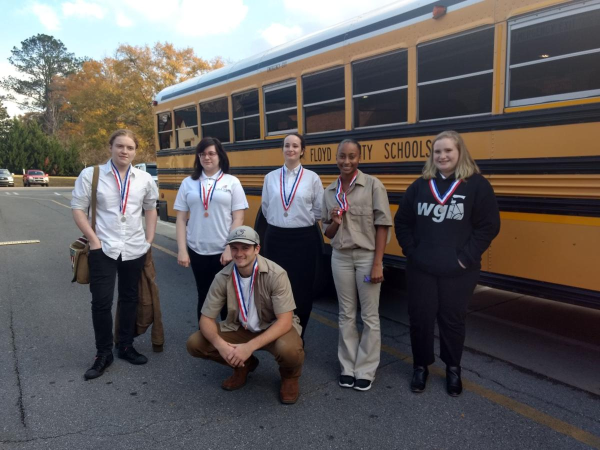 College and Career Academy SkillsUSA students attend Region 1 competitions