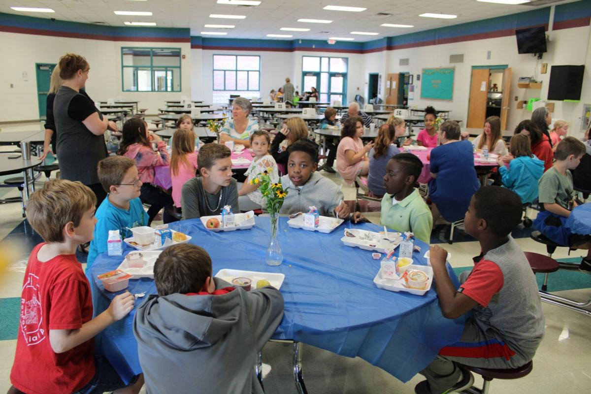 Mentors invest in Pepperell Elementary
