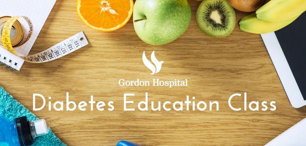 Gordon Hospital offers diabetes education class