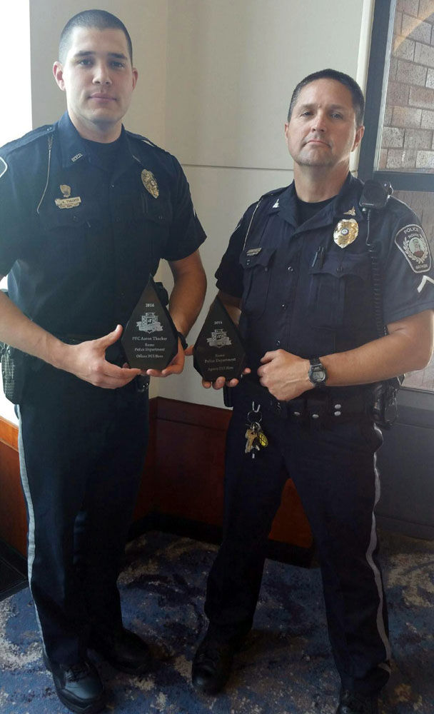 Rome Police Department >> Rome Police Department 2 Officers Honored At Mothers Against