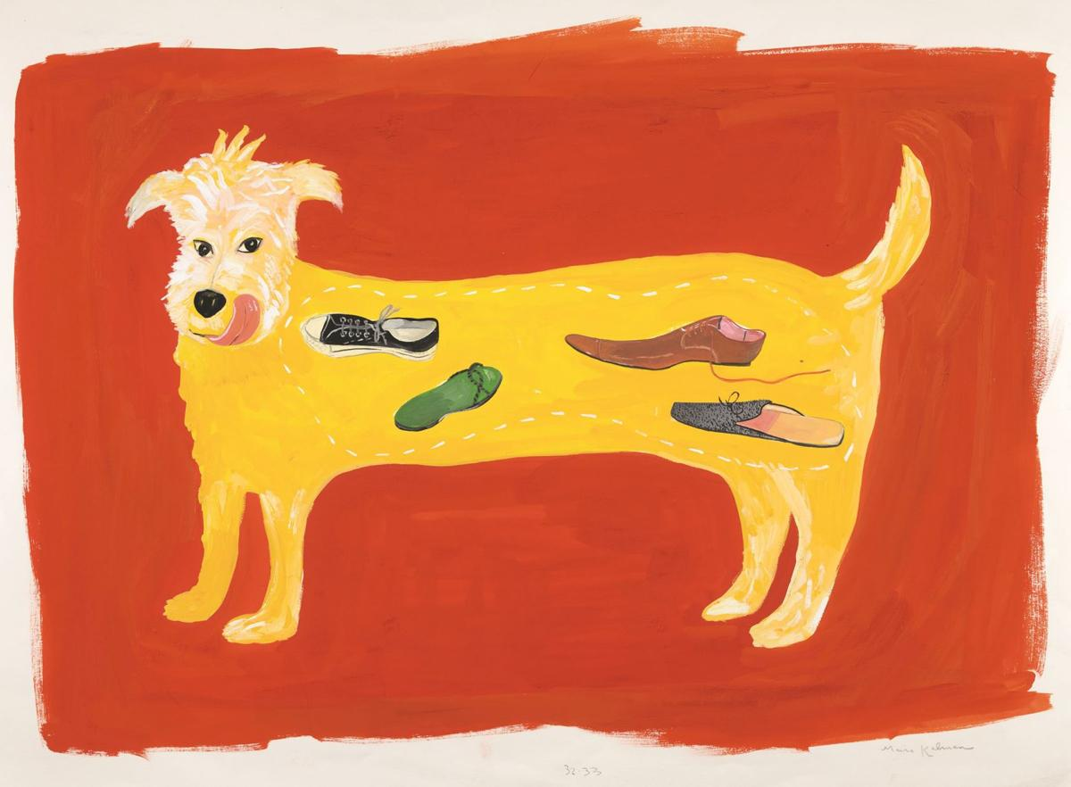 "061919_MNS_High_Kalman_002 Maira Kalman's ""S: He ate Mookie's stinky sneaker for breakfast"""