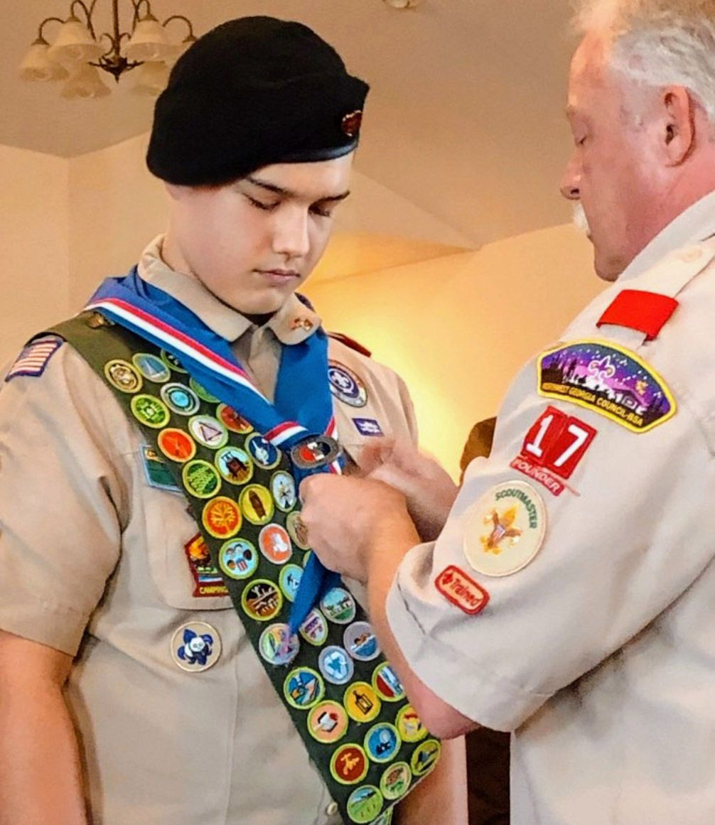Local scout earns Eagle honors