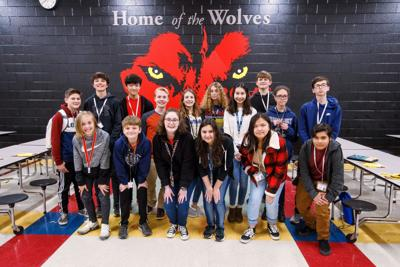 Rome Middle celebrates students on Principal's List