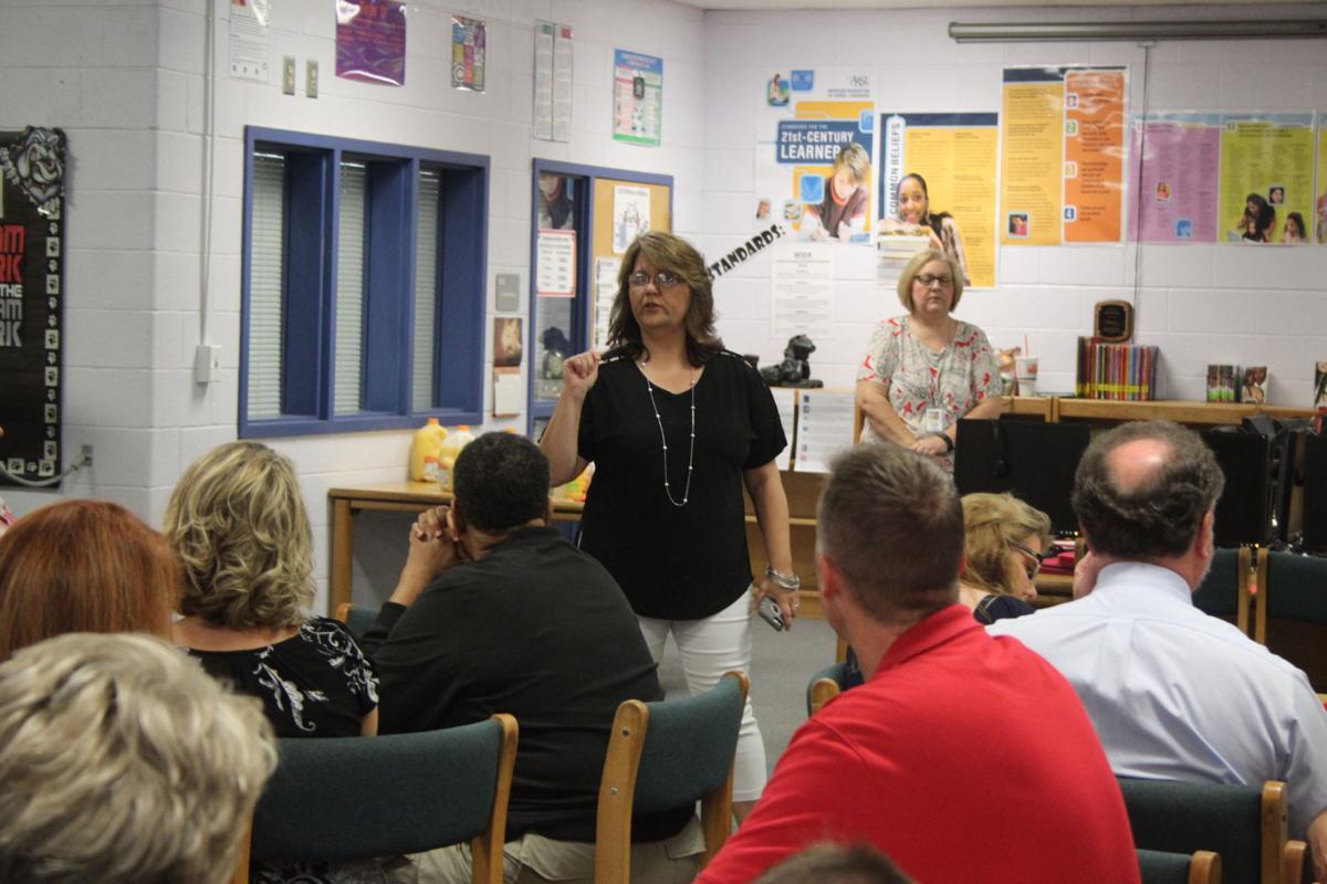 Take Back Polk mentoring program meeting
