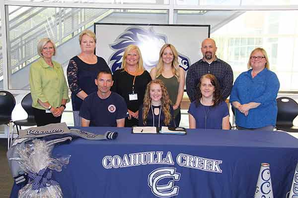 Courtney Blair signs with GNTC