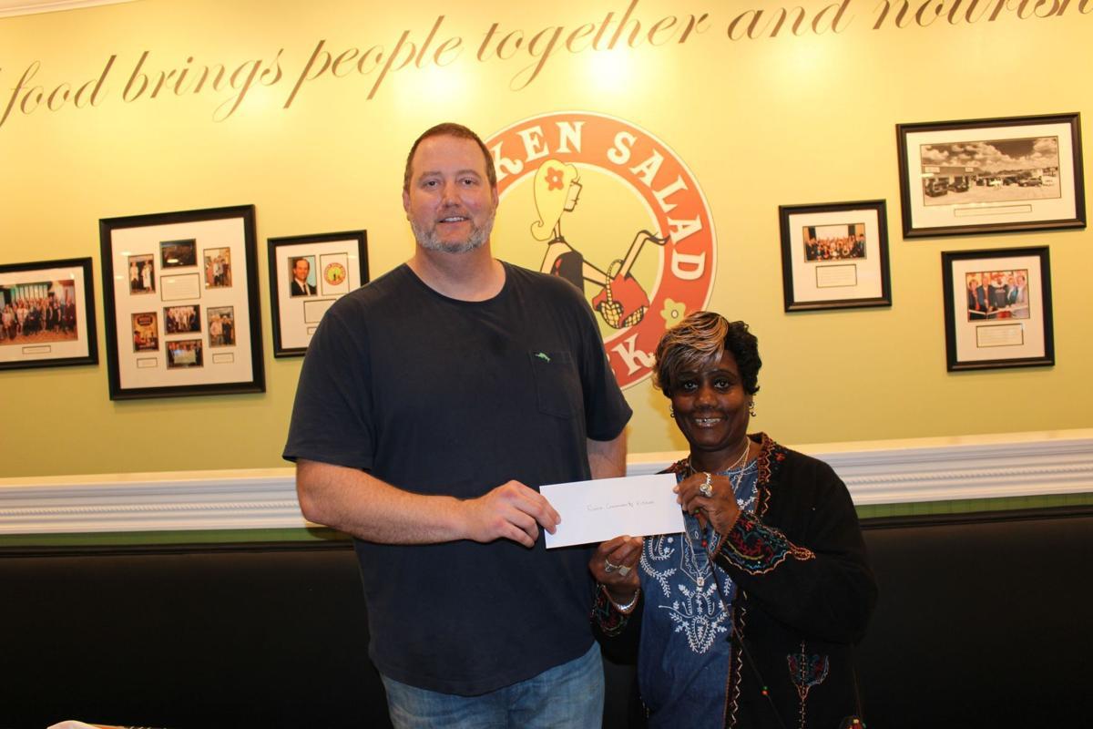 Chicken Salad Chick donates over $3,500 to Community Kitchen