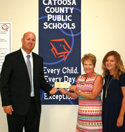 NHC Healthcare in Fort Oglethorpe donates $6,000 to Catoosa County schools
