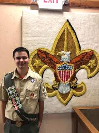 Three young men earn the title of Eagle Scout