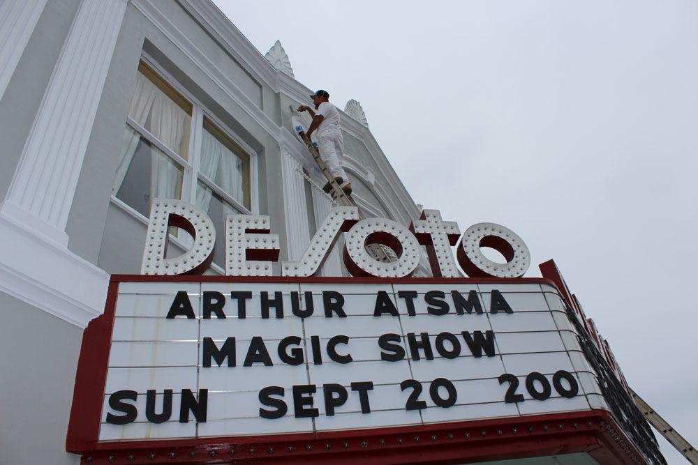DeSoto Theatre facelift
