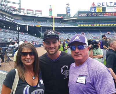 Charlie Culberson and parents