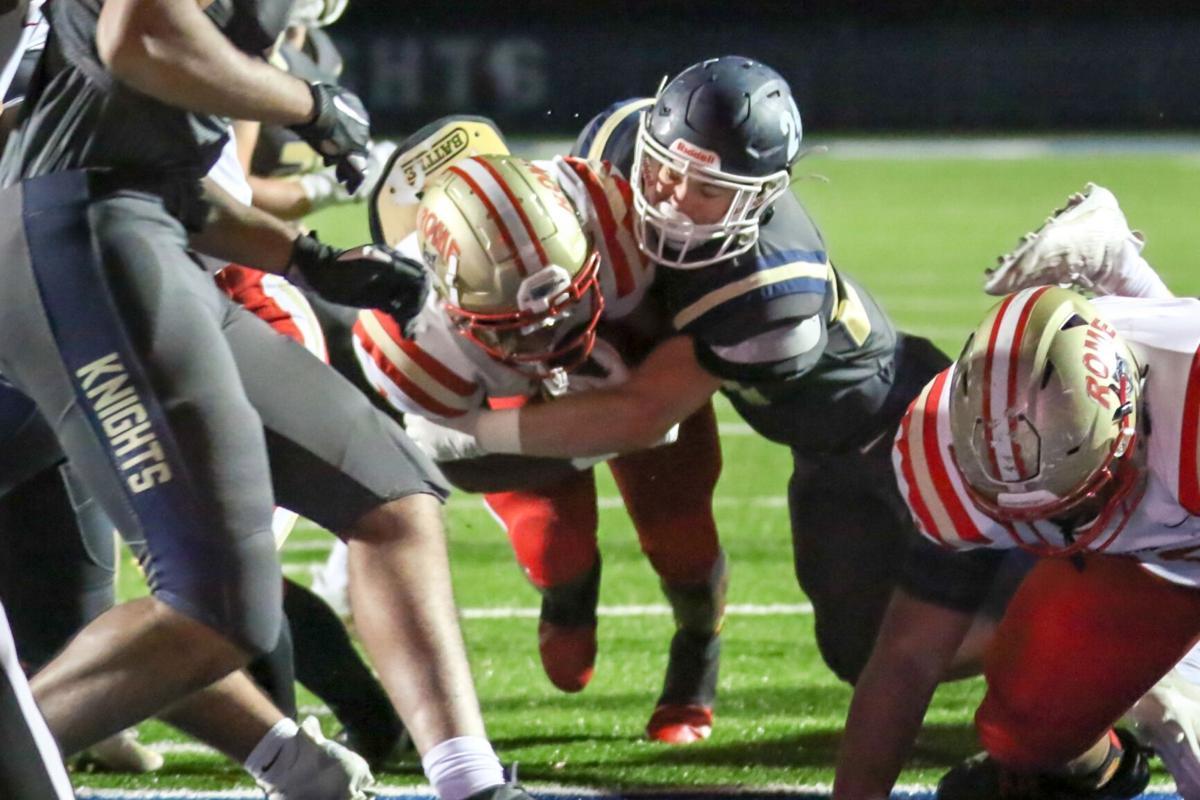 Rome's EJ Lackey vs. River Ridge