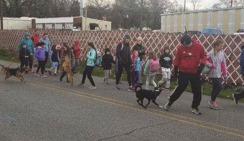 Georgia Walk to School Day