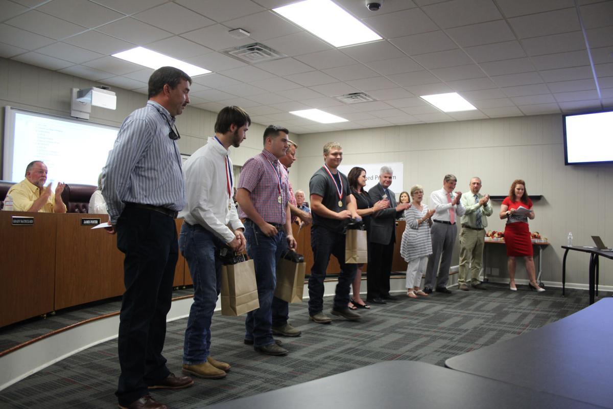 SkillsUSA state winners honored