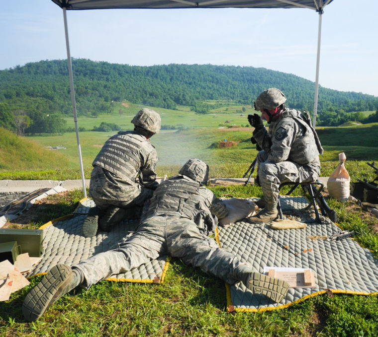 116th Security Forces Squadron trains at Catoosa Training Site