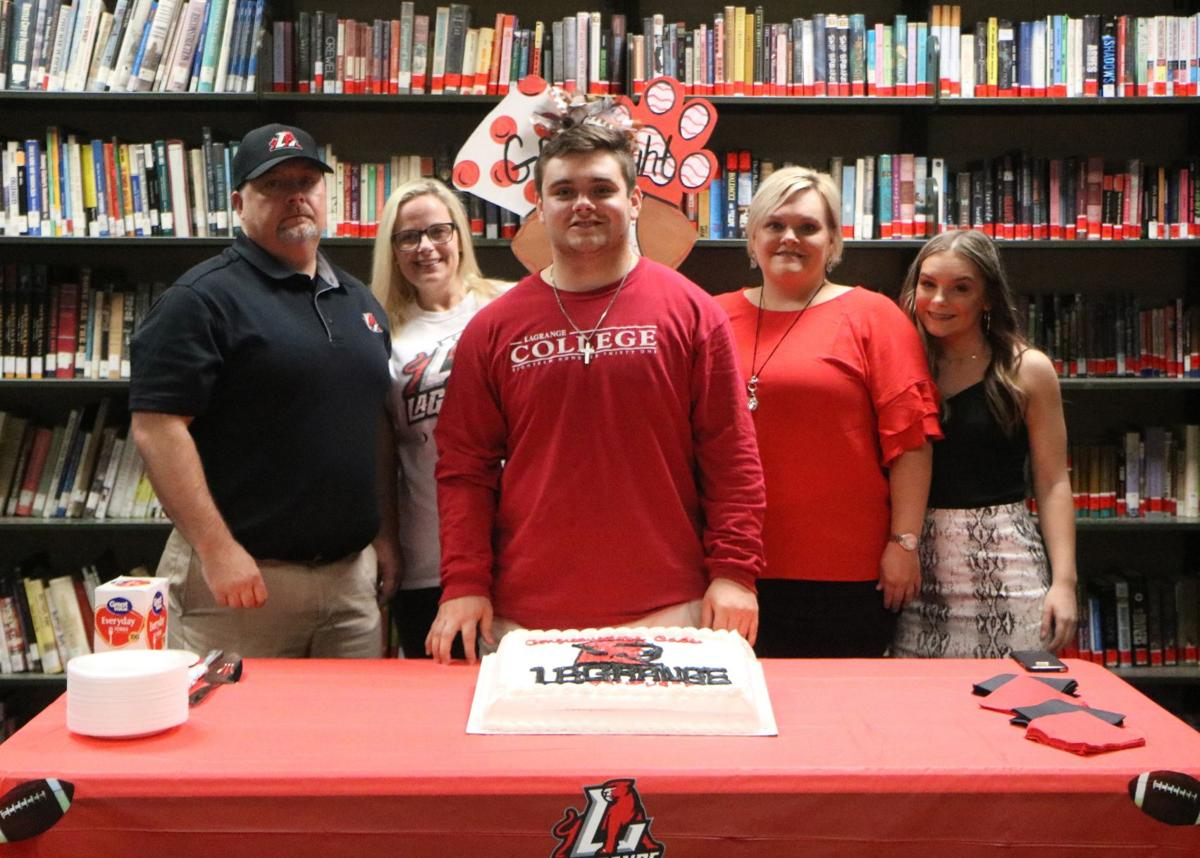 Cade Smith signs with LaGrange College