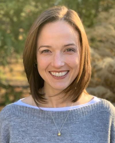 Alli Mitchell, United Way executive director Floyd County